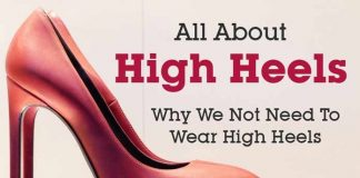 All about high heels Why we not need to wear high heels
