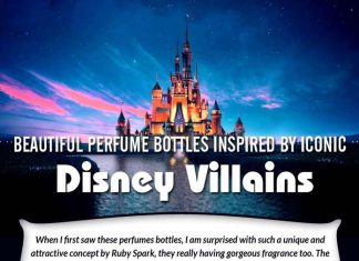 Beautiful Perfume Bottles Inspired by Iconic Disney Villains