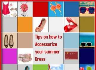 How to Accessorize your summer dress