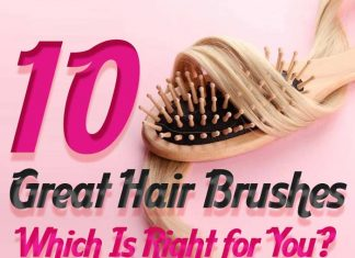 10 Types of Hair Brushes