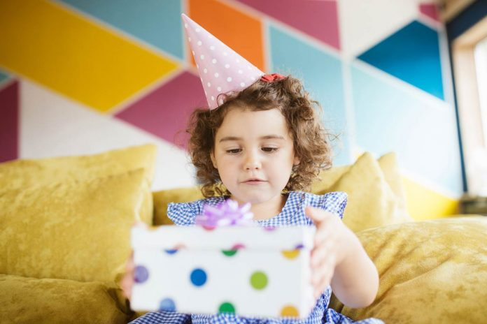 Gift your baby on first birthday