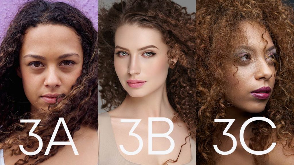 Types of Hair - 3a, 3b, 3c